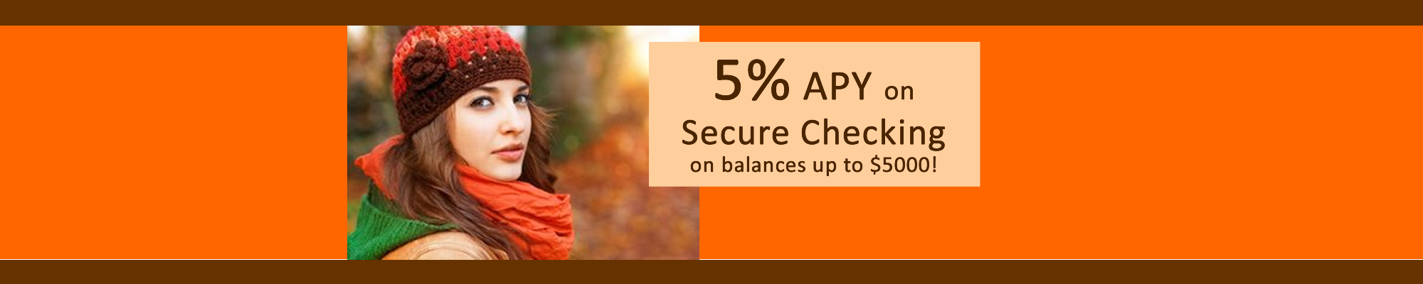 5% Secure Checking
