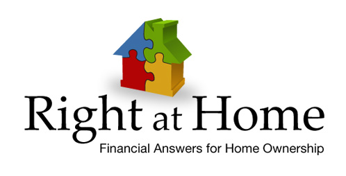 Right at Home - Financial Answers for Home Ownership - Logo