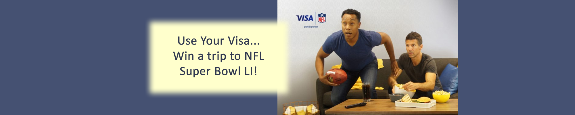 Visa Super Bowl contest